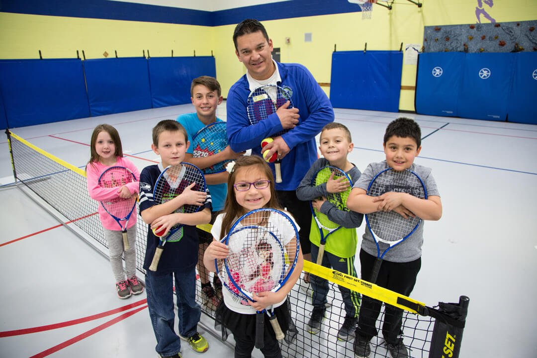 Tennis STEM ABC After School Care Program Greeley Weld County