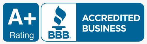 Better Business Bureau A+ Rating BBB