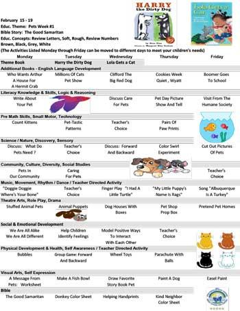 Sample Curriculum ABC